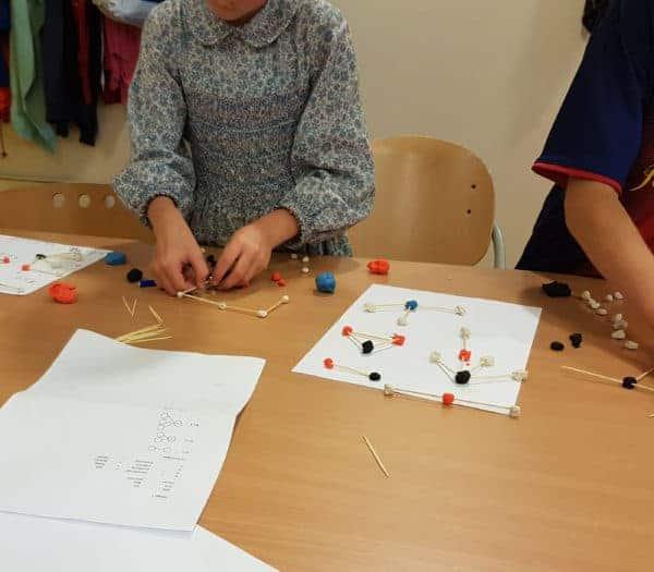 Onderzoekend leren - Moleculen maken tijdens de science les