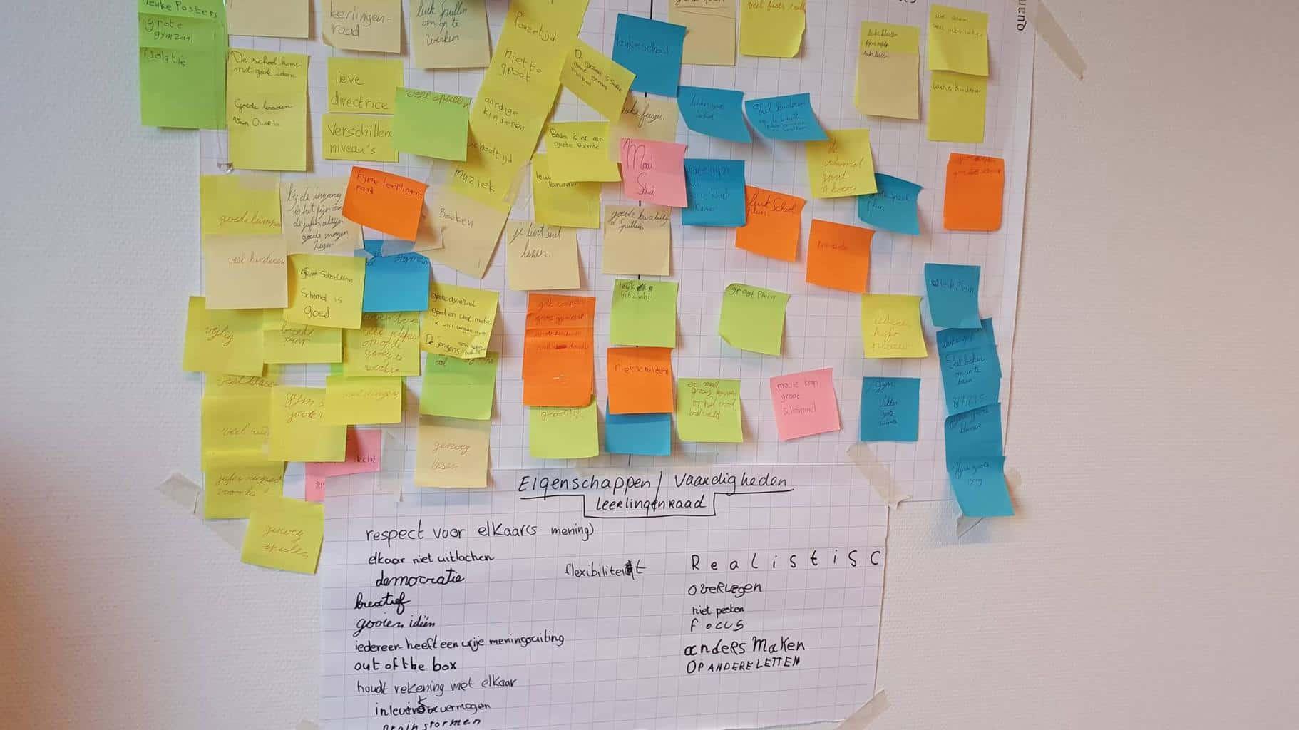 Junior Campus OOL project Leerlingenraad - onderzoekend en ontwerpend leren