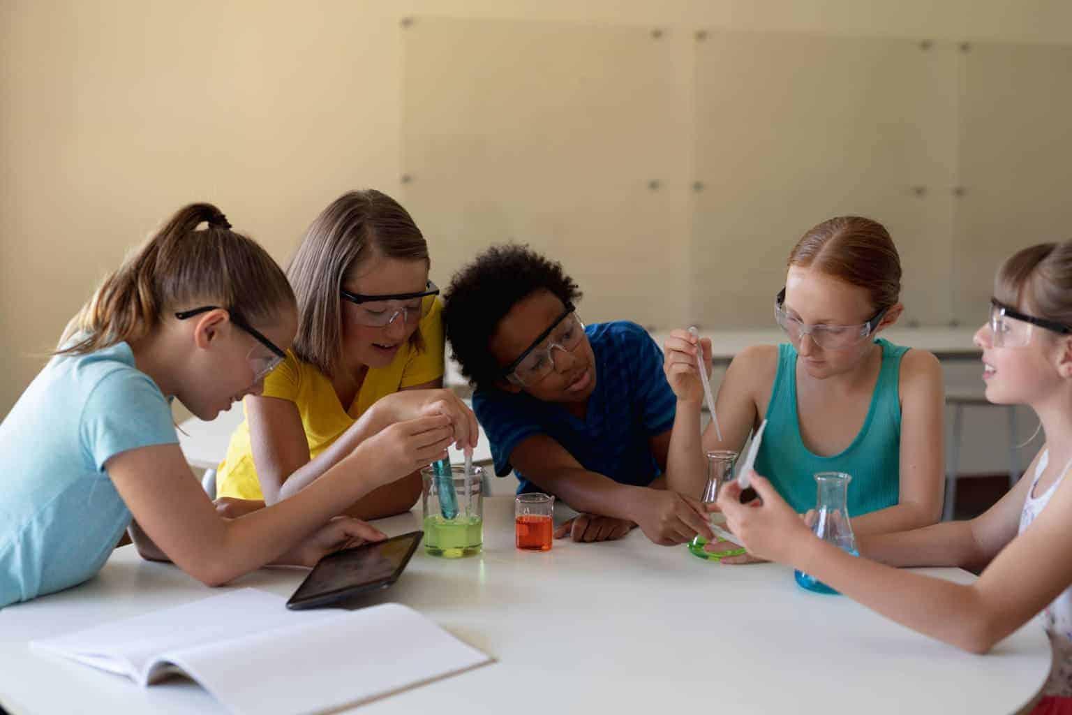 Junior Campus OOL lessenserie Science Lab - onderzoekend en ontwerpend leren